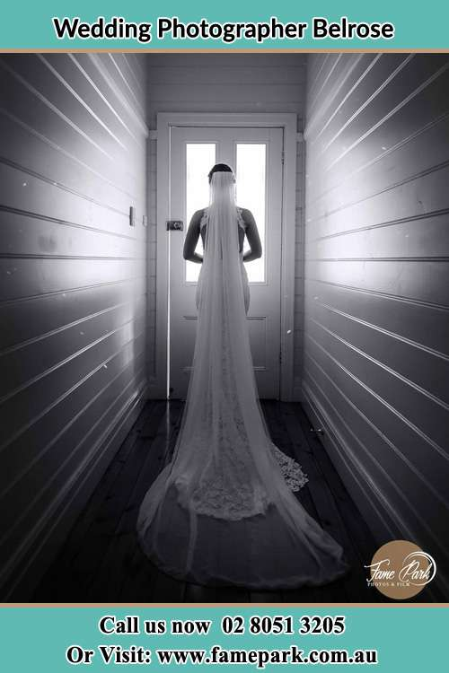 Photo of the Bride going out the door Belrose NSW 2085