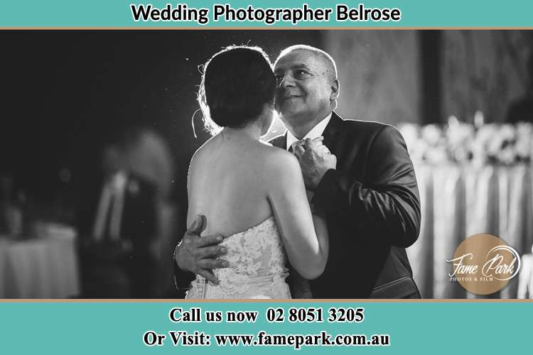Photo of the Bride dancing with her father Belrose NSW 2085