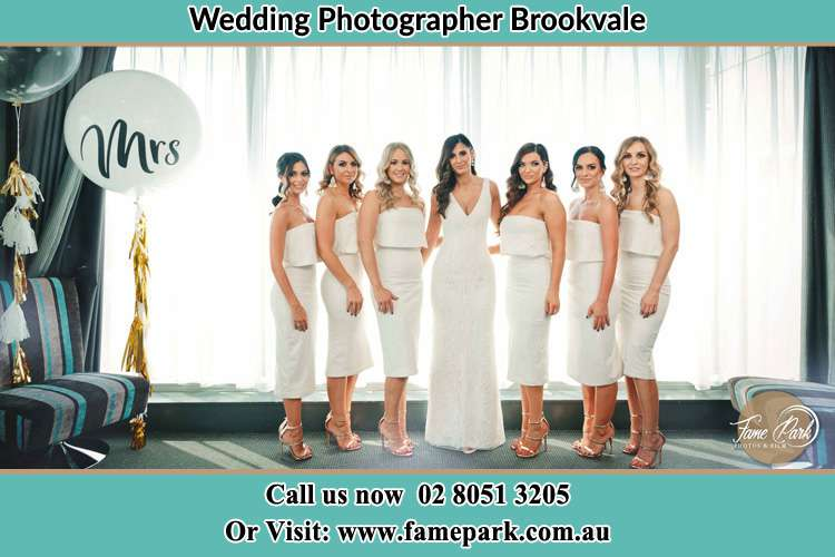 Photo of the Bride and the bridesmaids Brookvale NSW 2100