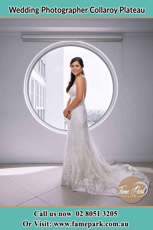 Photo of the Bride near the window Collaroy Plateau NSW 2097