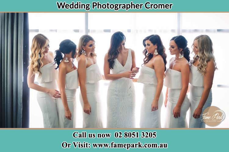Photo of the Bride and the bridesmaids Cromer NSW 2099