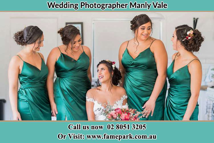 Photo of the Bride and the bridesmaids Manly Vale NSW 2093