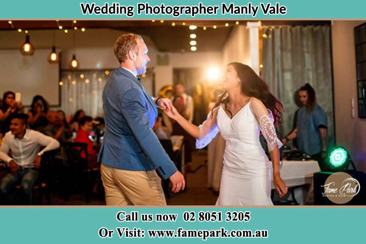 Photo of the Groom and the Bride dancing Manly Vale NSW 2093