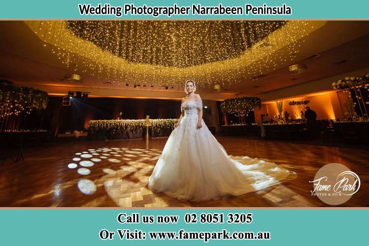 Photo of the Bride at the dance floor Narrabeen Peninsula NSW 2101